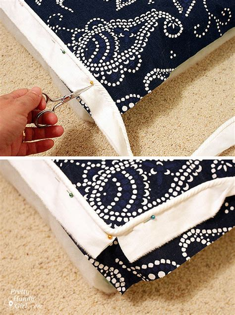 how to make a bench cover how to make seat cushions with piping chairs seating