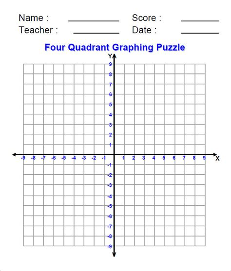 Coordinate Grid Template by 15 Coordinate Geometry Worksheet Templates Free Pdf
