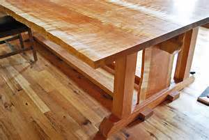 Woodworking Dining Table Newwoodworks Live Edge Woodworking Craftsman Dining Tables Cincinnati By