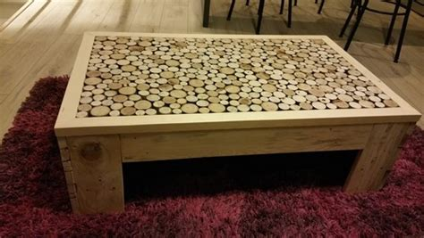 chaise orthop馘ique de bureau table basse fait maison de palettes et bois flott 233