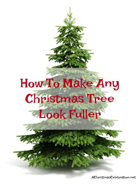 how to make a christmas tree wtih rubber gloves how to make your tree look fuller
