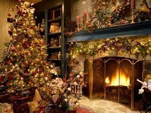 wallpaper christmas tree decoration