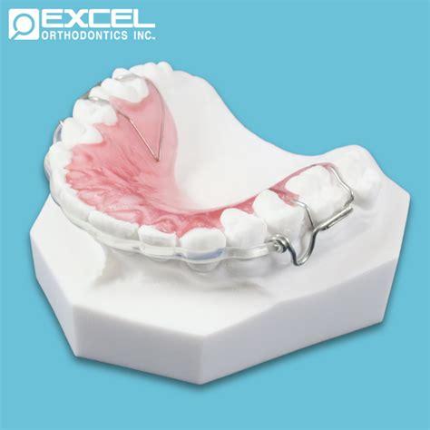 Acrylic Retainer hawley retainers excel orthodontics