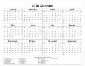 Calendario 2018 Editable Free Yearly Printable Calendar 2018 Editable