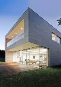 concrete home designs open block the modern glass and concrete house design by