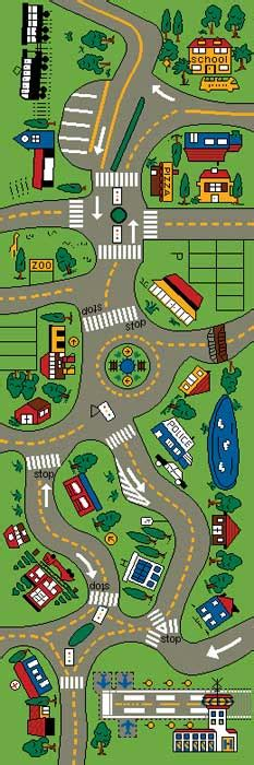 car road rug streets play mats for play rug for cars more