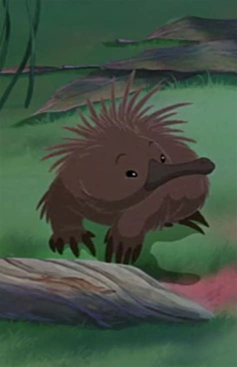 echidna from the rescuers down under tattoos