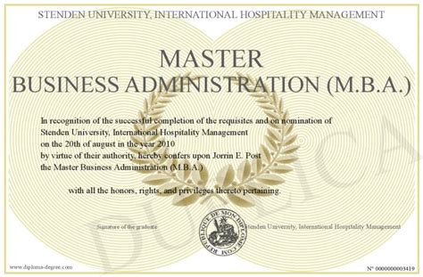 Athabasca Executive Master Of Business Administration Mba by Master Business Administration M B A