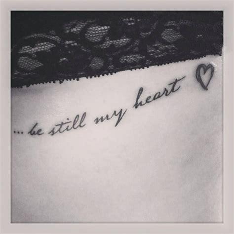 tattoo healing under bra script tattoo under breast bra line be still my heart