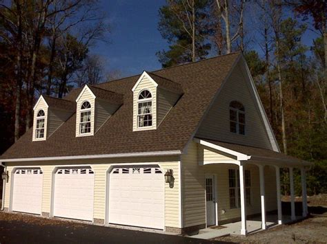 colonial garage plans custom 32 x 40 3 car garage built by c e mills general