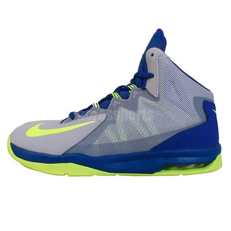 stutter step basketball shoes nike air max stutter step 2 gs grey volt blue 2014 youth