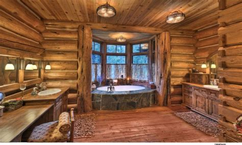log cabin with bathroom and kitchen rustic log cabin bathroom designs log cabin rustic