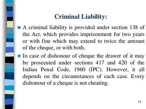 ipc section 417 dishonour of cheque