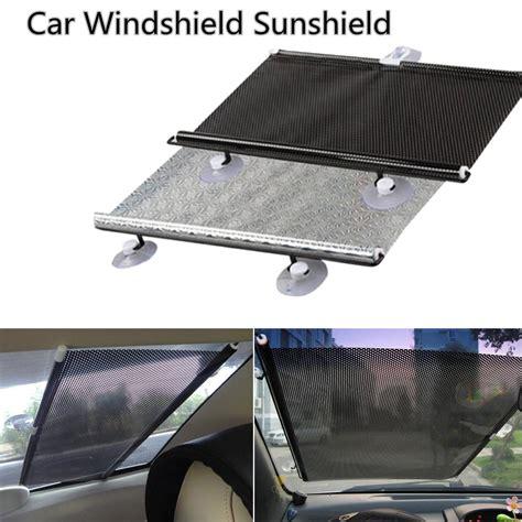 Visor Windshield Suzuki Address big size roller blinds auto car retractable curtain window