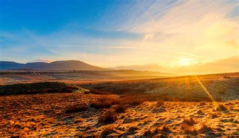 picture nature sky dawn landscape sunshine
