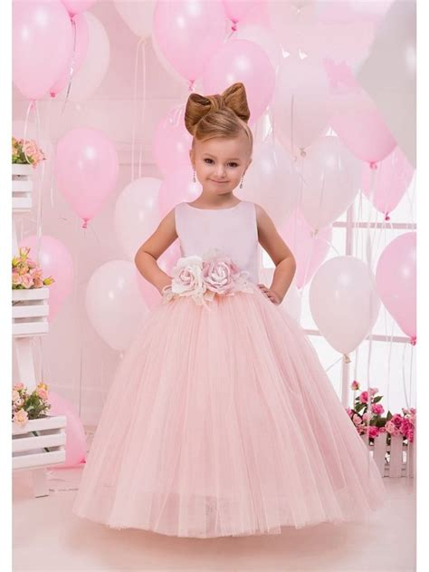 Pink Flower Dress flower dresses in pink wedding dresses in redlands