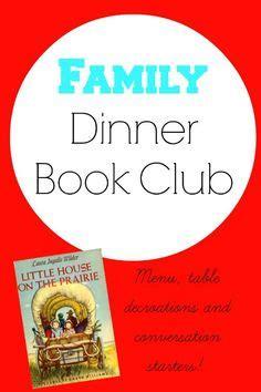 the saturday supper club books book club menu on