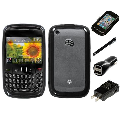 Casing Hp Blackberry Curve 8530 for blackberry curve 8530 8520 tpu skin phone cover charger stylus