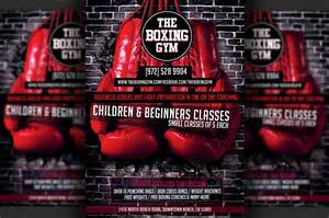 boxing poster template free boxing flyer template flyer templates on creative market