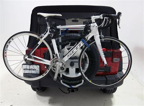 spare me bike rack honda cr v thule spare me 2 bike rack spare tire mount