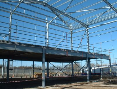 structural layout of industrial building single storey industrial buildings steelconstruction info