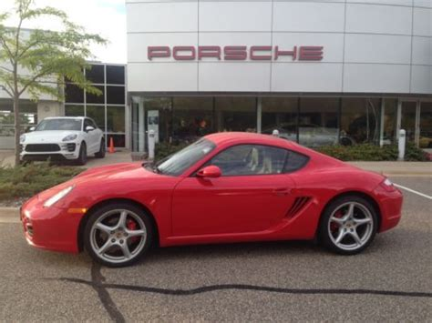 Porsche Cayman For Sale By Owner by Find Used 2008 Porsche Cayman S One Owner Low Miles