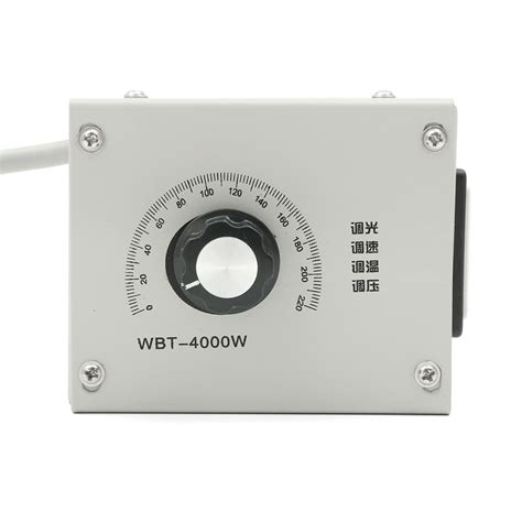 temperature fan speed controller 4000w ac 220v variable voltage controller for fan speed