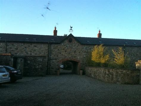 decoy country cottages entrance into the barn structure picture of decoy country cottages navan tripadvisor