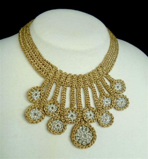 jewelry patterns stitch story new pattern release raindrops crochet necklace