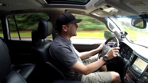 driving review  lexus lx   passenger suv test drive video review  depth youtube