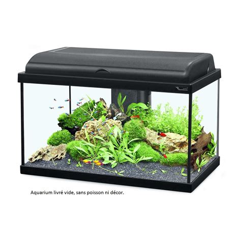 Lu Led Aquarium 60 Cm aquarium aquadream 60 cm noir led soldes poissons et