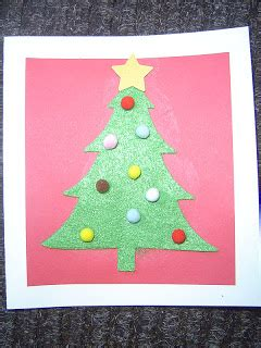 tree sts for card mrs t s grade class felt tree cards