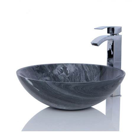 in sink basin marble ancient wood wash counter top basin
