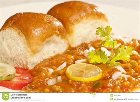 indian food pav bhaji pav bhaji masala from india stock image image 38501461