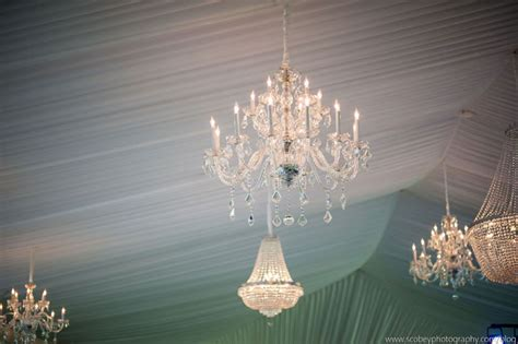 Rental Chandeliers Gorgeous Wedding Tent With Chandeliers Lake Oconee Event