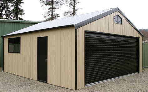 Colorbond Sheds And Garages by Gallery Garages Aussie Made Garages And Barns