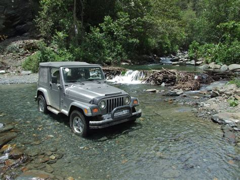 Jeep In River The Road To Cuzco The Road Chose Me