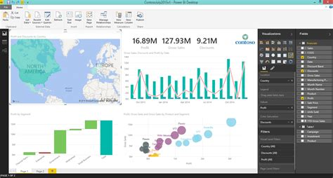 pro power bi desktop books microsoft s power bi visualization service will be