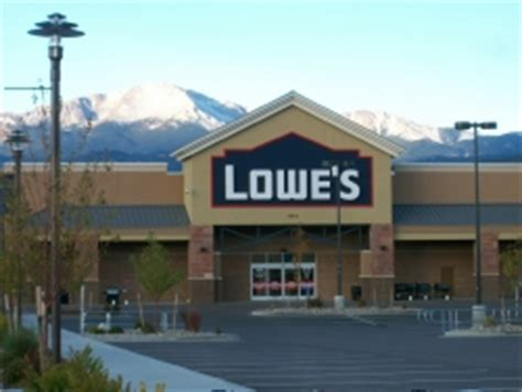 lowe s home improvement in colorado springs co 719