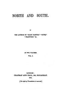 north  south gaskell  wikiquote