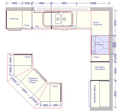 Pictures Of Kitchen Plans Kitchen Design Plans With Island And Corner