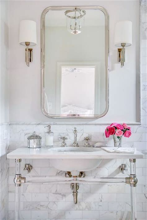 mixing chrome and brushed nickel finishes in bathroom how to mix metal finishes in a bathroom