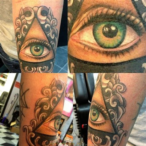 occhio illuminati tatuaggi incredibili belli o strani compilation pagina