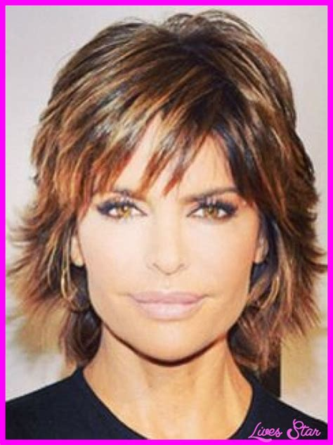 back picture of lisa rinna hairstyle back view of shag haircut short hairstyle 2013