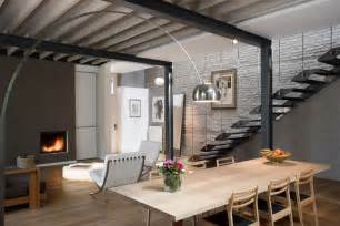 Consumer Reports Kitchen Cabinets Exposed Brick And Steel Create Backdrop For Contemporary