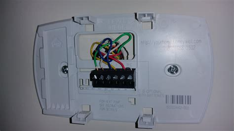 wiring diagram honeywell heat thermostat image