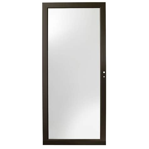 Andersen 4000 Door Installation by Andersen 36 In X 80 In 4000 Series Bronze Right