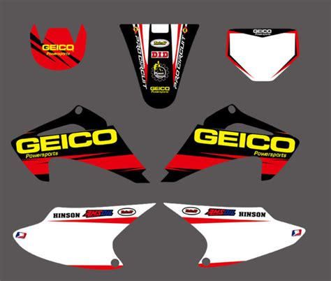 Decal Crf 150 003 0032 new team graphics backgrounds decal sticker kits for crf150 crf230 crf150f crf230f crf air