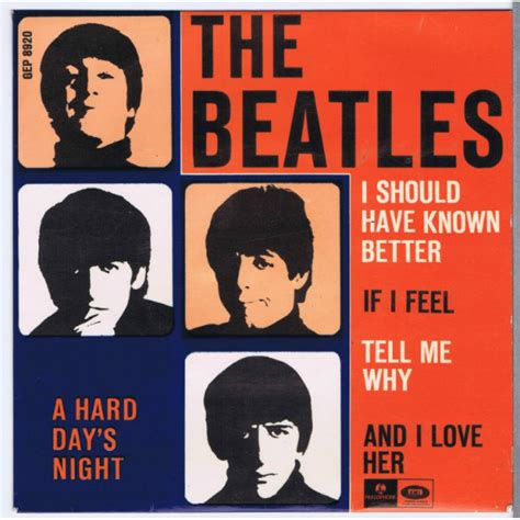 i should known better beatles i should known better if i fell feel