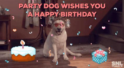 happy birthday puppy gif jonny gif find on giphy
